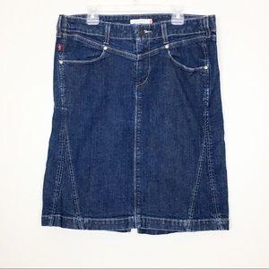 Levi's Knee Length Jean Skirt Size 8